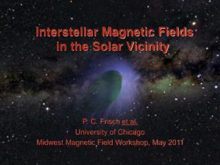 Interstellar Magnetic Fields in the Solar Vicinity