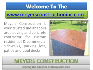 Concrete Contractor Indianapolis- Paving Contractor for Repair