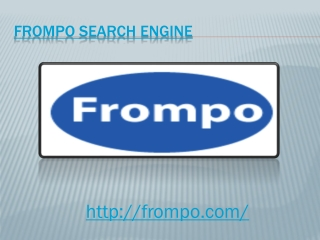 Frompo Search Engine