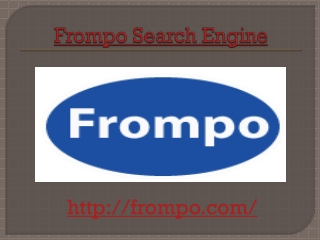 Frompo Search Engines