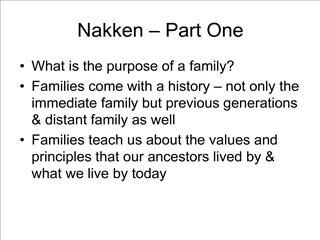 nakken   part one