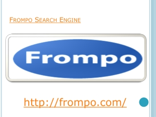 Frompo The Search Engine