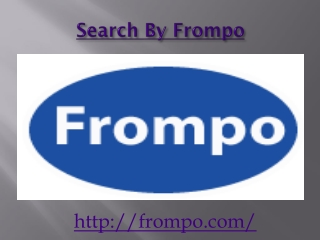 Search By Frompo Engine
