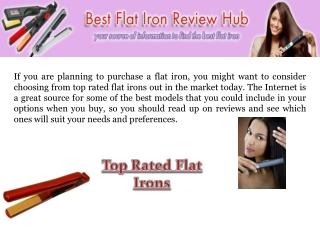 Best flat iron
