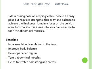 How to perform Sleeping Vishnu Pose In Yoga