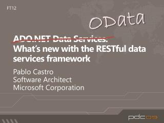ado data services:  what s new with the restful data services framework