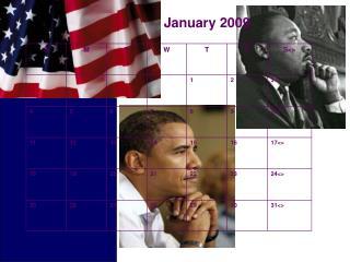 Obama Calendar- PPT