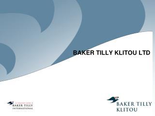 BAKER TILLY KLITOU LTD