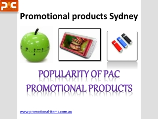 Promotional Products Do enhance Customer Base