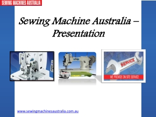 Know More  About Industrial Sewing Machine