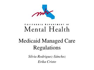 Medicaid Managed Care Regulations