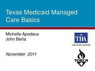 Texas Medicaid Managed Care Basics