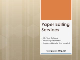 paper editing service