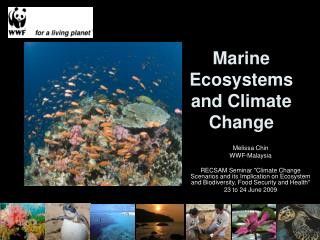 Marine Ecosystems and Climate Change