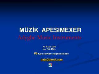M ZIK  APESIMEXER Adyghe Music Instruments