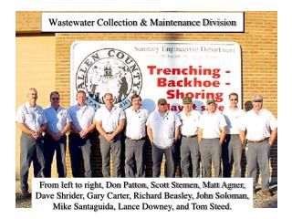 Wastewater Collection  Maintenance Division