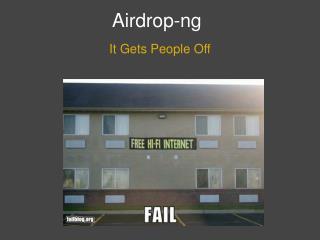 Airdrop-ng
