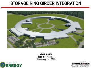 Lewis Doom NSLS-II- ASAC    February 1-2, 2012