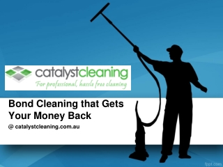 Bond Cleaning that Gets Your Money Back