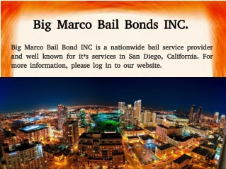 San Diego Bail Bond