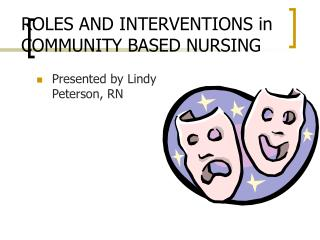 ROLES AND INTERVENTIONS in COMMUNITY BASED NURSING