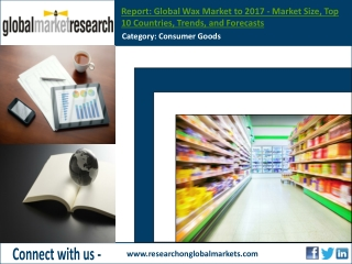 Global Wax Market to 2017 | Market Research Report