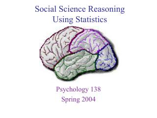 Social Science Reasoning  Using Statistics