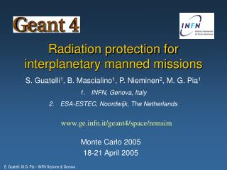 Radiation protection for interplanetary manned missions