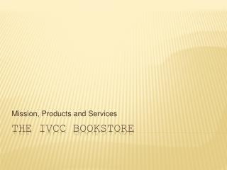 The IVCC Bookstore