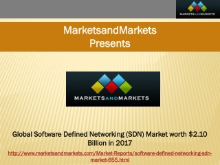 Global Software Defined Networking (SDN) Market worth $2.10