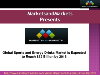 Global Sports and Energy Drinks Market Forecast by 2016