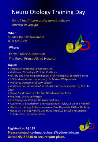 Neuro Otology Training Day