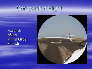 Competition Flight