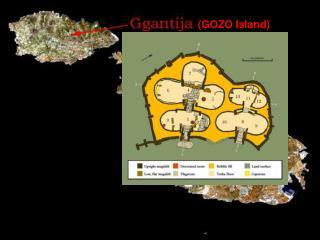 Ancient Maltese Relief Artwork Ggantija Temple