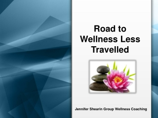 Jennifer Shearin Group Wellness Coaching - Road to Wellness