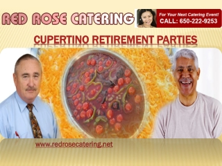 Cupertino Retirement Parties