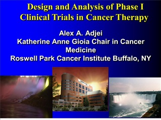 alex a. adjei katherine anne gioia chair in cancer medicine roswell park cancer institute buffalo, ny