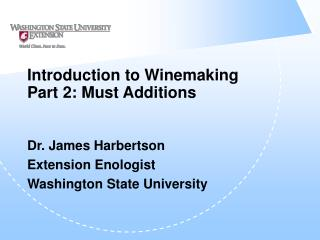 introduction to winemaking part 2: must additions