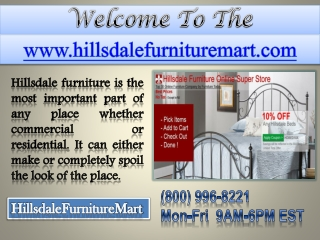 Hillsdale Furniture - Hillsdale Beds - Hilldale Furniture Collections