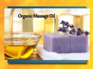 Organic Massage Oil