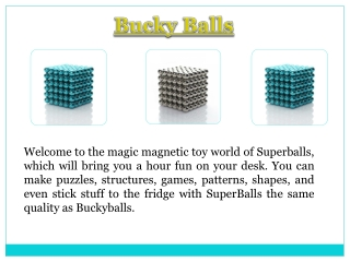 Magentic Balls