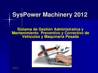 Sistema de Gesti n Administrativa y Mantenimiento  Preventivo y Correctivo de Veh culos y Maquinaria Pesada