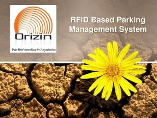 RFID based Parking Management Solution