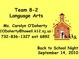 Team 8-2 Language Arts