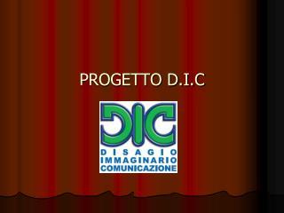 PROGETTO D.I.C
