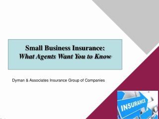 Small Business Insurance: What Agents Want You to Know