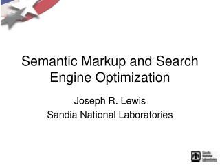 Semantic Markup and Search Engine Optimization