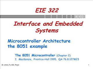 eie 322   interface and embedded systems