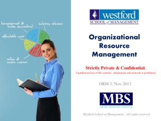 Organizational Resource Management