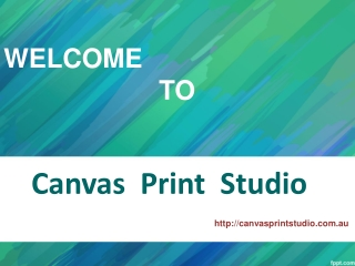 Canvas Printing Melbourne